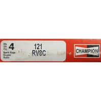 Champion Copper Plus Spark Plugs Pack of 4 New Stock No.121 RV8C