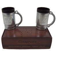 "Snap-On 95th Anniversary Limited Edition 2 Piece ""Flankard"" Socket Mug Set New"