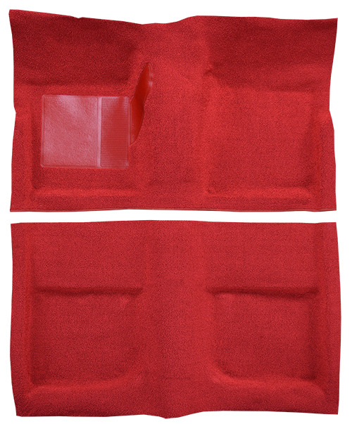 1967-1968 Mercury Cougar Carpet Replacement - Loop - Complete | Fits: Coupe