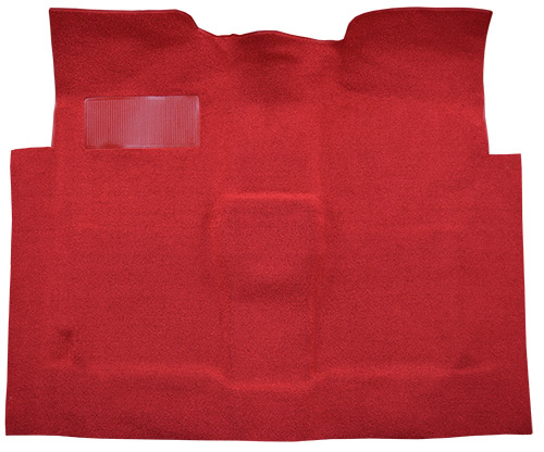 1960-1966 Chevy C10 Pickup Carpet Replacement - Loop - Complete | Fits: Regular Cab, 2WD, Auto, 3spd, Column Shift
