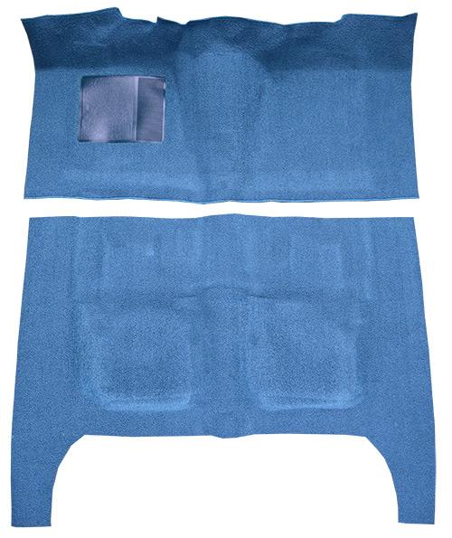 1963-1964 Mercury Monterey Carpet Replacement - Loop - Complete | Fits: 4DR, Sedan, Flat Front