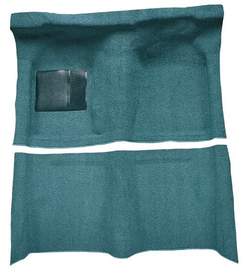1963-1965 Mercury Comet Carpet Replacement - Loop - Complete | Fits: 2DR, Hardtop, Auto, Molded
