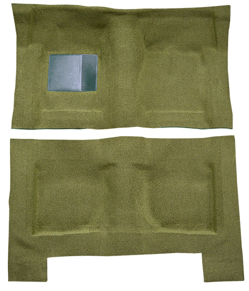1968 Ford Galaxie 500 Carpet Replacement - Loop - Complete | Fits: 4DR, Auto