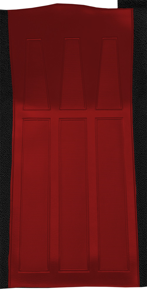 1970-1971 Mercury Cyclone GT Carpet Replacement - Loop - Complete | Fits: Auto, with 2 Red Inserts