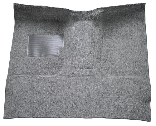 1965-1972 Ford F-100 Carpet Replacement - Loop - Complete | Fits: Regular Cab, Auto C-6 Trans, w/Gas Tank in Cab, Column Shift
