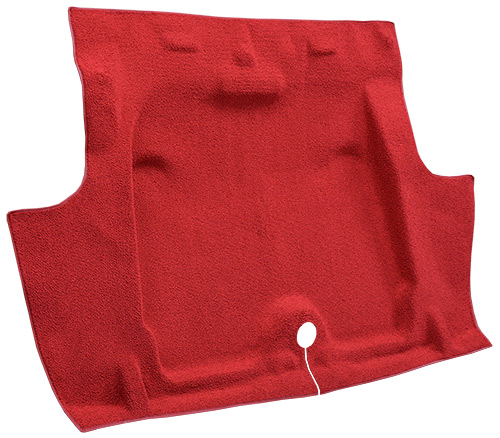 1967-1968 Chevy Camaro Trunk Carpet - Molded - Loop | Fits: Coupe, Molded