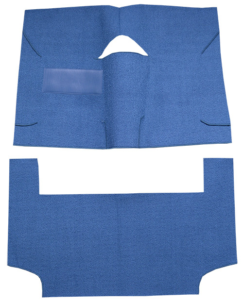 1964-1965 American Motors American Carpet Replacement - Complete - Cutpile | Fits: 2DR, Convertible