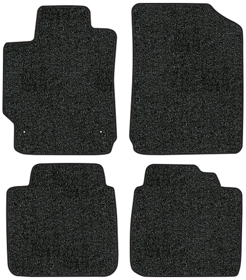 2007 2017 Toyota Camry Floor Mats 4pc Cutpile