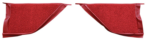 1967-1968 Mercury Cougar Kick Panel Carpet Replacement - Loop   Fits: Coupe, Inserts