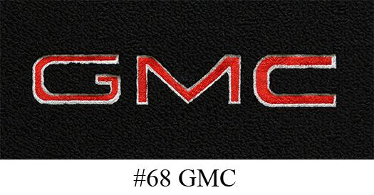 2015-2016 GMC Yukon Denali Cutpile Carpet Logo Floor Mat 4pc