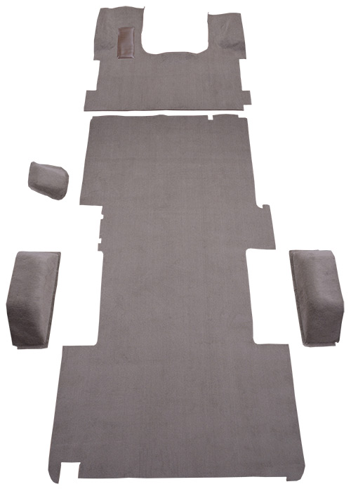 Fits: Extended Cab Complete Factory Fit Cutpile with Rear Air ACC 1997-1999 Chevy K1500 Carpet Replacement