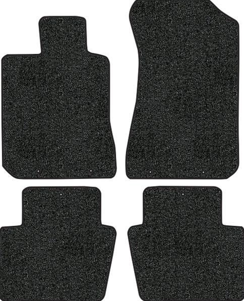 Acura Floor Mats: 2005-2012 Acura RL Floor Mats - 4pc - Cutpile