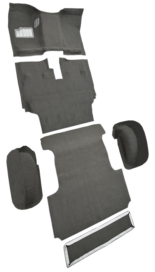 1986-1987 Toyota Land Cruiser Carpet Replacement - Complete - Nylon | Fits: FJ60 model