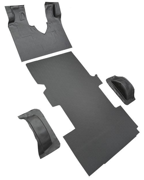 1997-2002 Ford E-250 Econoline Carpet Replacement - Complete - Vinyl | Fits: Ext, Gas or Diesel