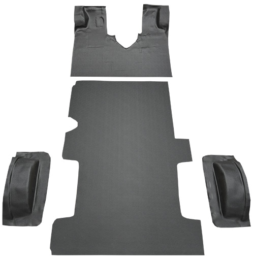 1997-2002 Ford E-150 Econoline Carpet Replacement - Complete - Vinyl | Fits: Reg, Gas or Diesel