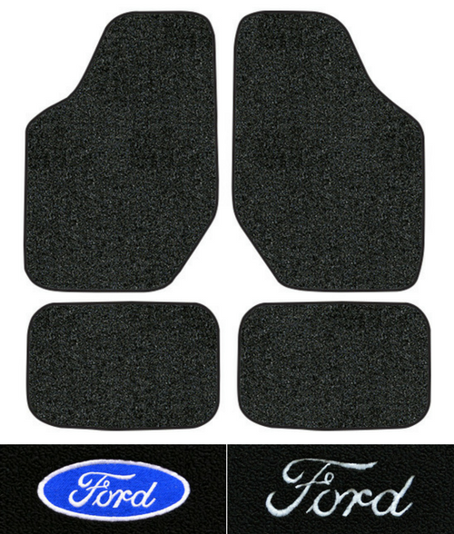 1996 2007 Ford Taurus Floor Mats 4pc Cutpile Ebay