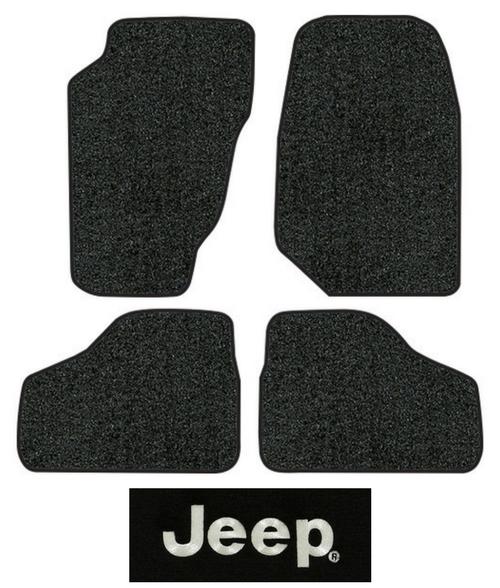 2002 2007 Jeep Liberty Floor Mats   KJ   4pc   Cutpile