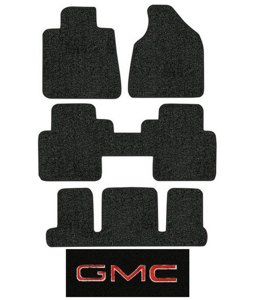 2007 2010 Gmc Acadia Floor Mats 4pc Cutpile Fits
