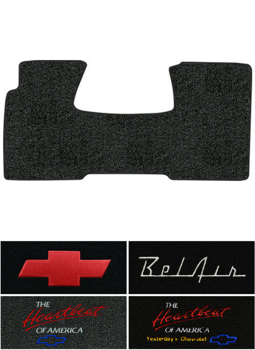7150 Loopes Fit Over Sunglass Wear Over Shades: 1955-1956 Chevy Sedan Delivery Floor Mat