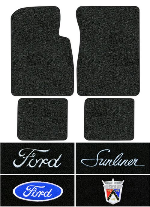 1961 Ford Galaxie Sunliner Floor Mats