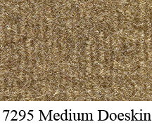1987-1989 Dodge D100 Door Panel Replacement Carpet - Cutpile
