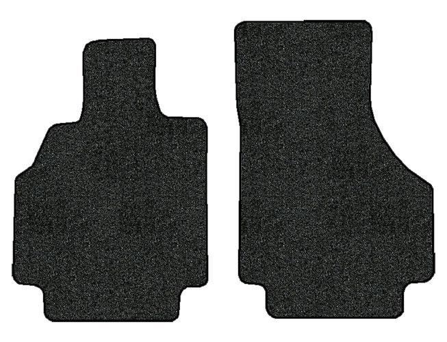 2008-2015 Audi R8 2 pc Front Factory Fit Floor Mats