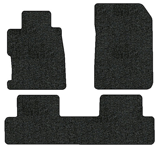 2012 2013 Honda Civic (Coupe) 3 Pc Set Factory Fit Floor Mats