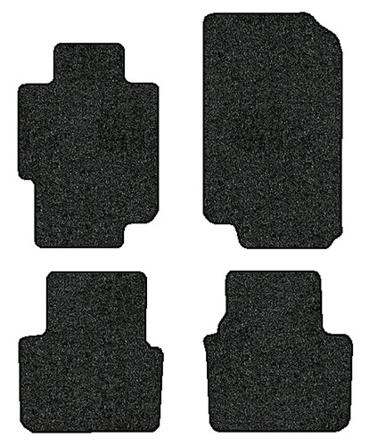 2004-2008 Acura TL 4 Pc Set Factory Fit Floor Mats