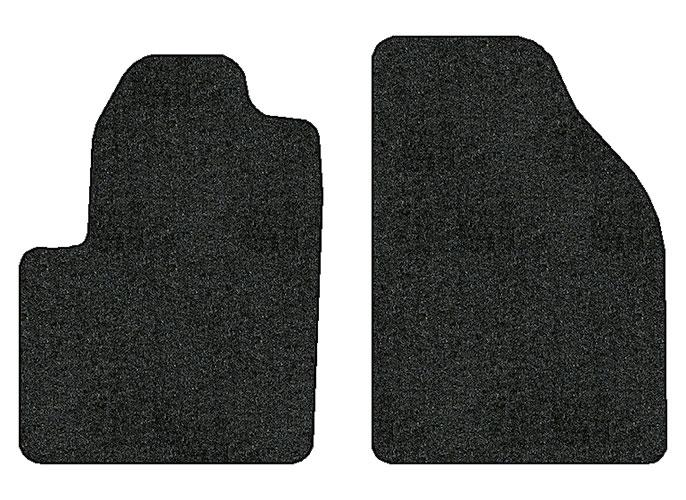 2013 2016 dodge dart 2 pc front factory fit floor mats factory oem parts. Black Bedroom Furniture Sets. Home Design Ideas