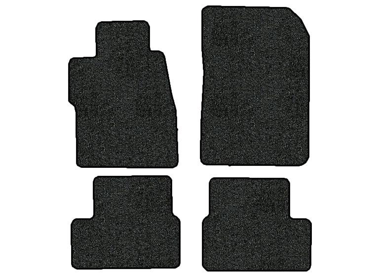 2015 2016 honda civic 4 pc set factory fit floor mats coupe factory oem parts. Black Bedroom Furniture Sets. Home Design Ideas