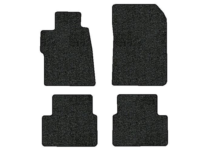 2015 2016 honda civic 4 pc set factory fit floor mats sedan factory oem parts. Black Bedroom Furniture Sets. Home Design Ideas