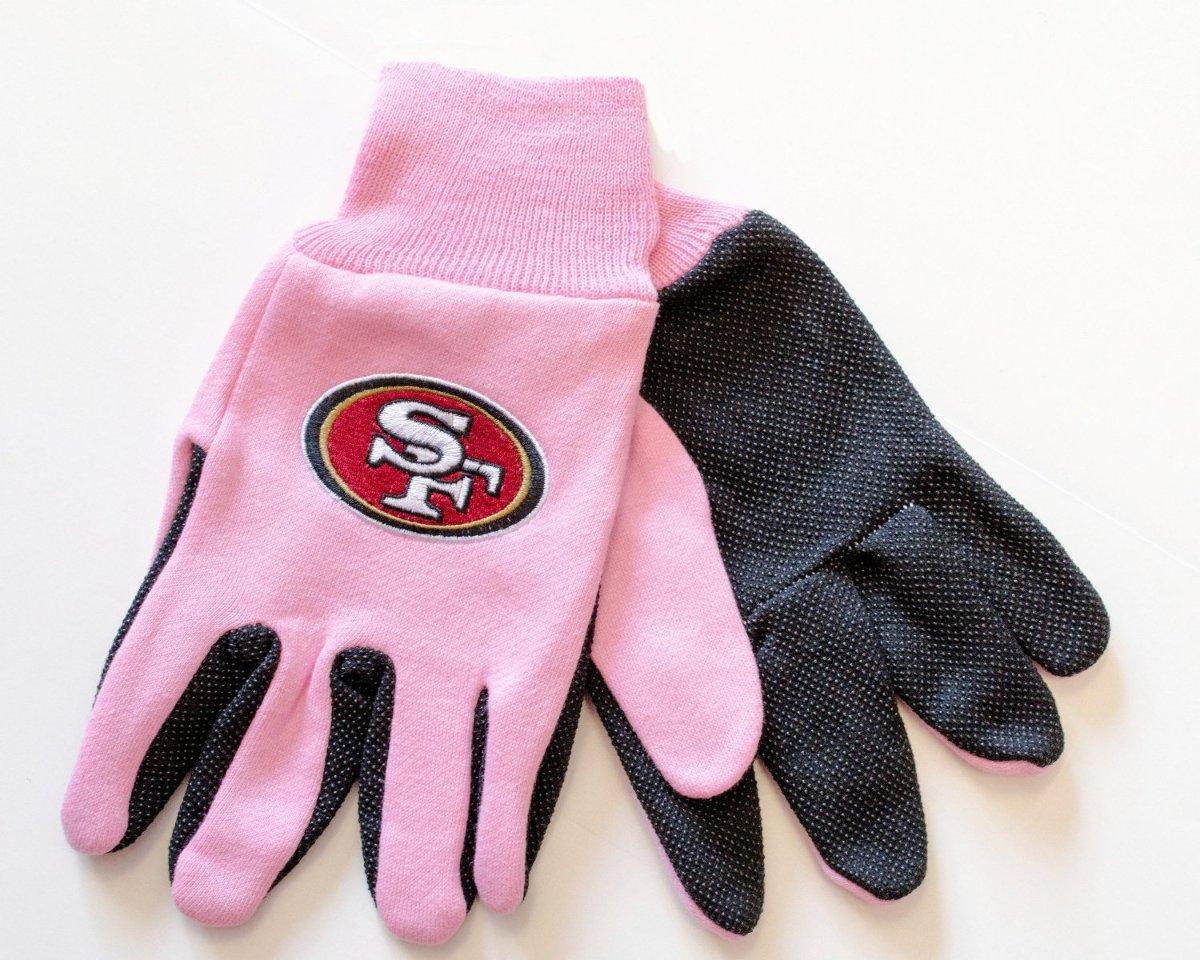 NFL Licensed Football San Francisco 49ers Pink Black Two ...