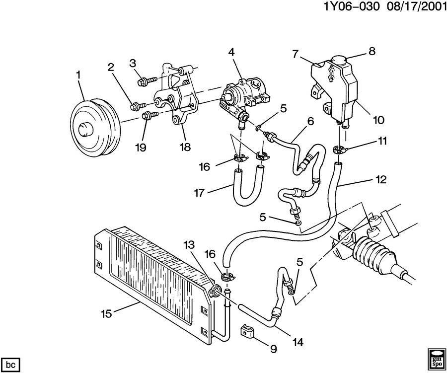 lt5 engine diagram 1990 1995 chevy corvette zr1 lt5 power steering pump mount bracket  1990 1995 chevy corvette zr1 lt5 power