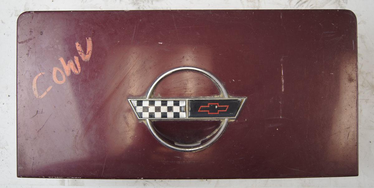 1986 Gas Tank Door Lid