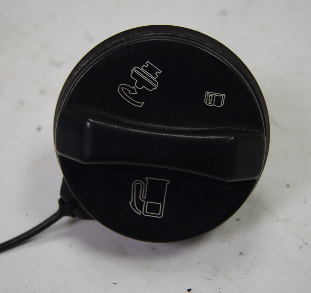 2004-2009 Cadillac XLR Fuel Filler Door W/Cap Used Silver