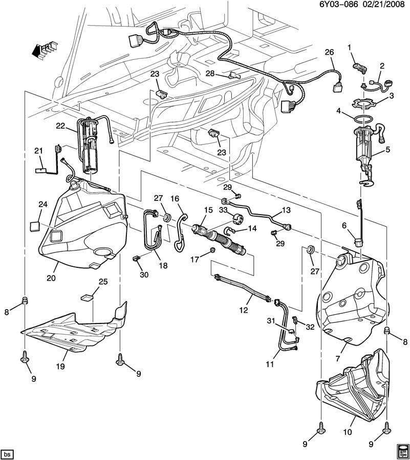 [DIAGRAM_4FR]  2006-2009 Cadillac XLR Fuel Pump Wiring Harness 10367812 | Factory OEM Parts | Cadillac Xlr Wiring |  | Factory OEM Parts