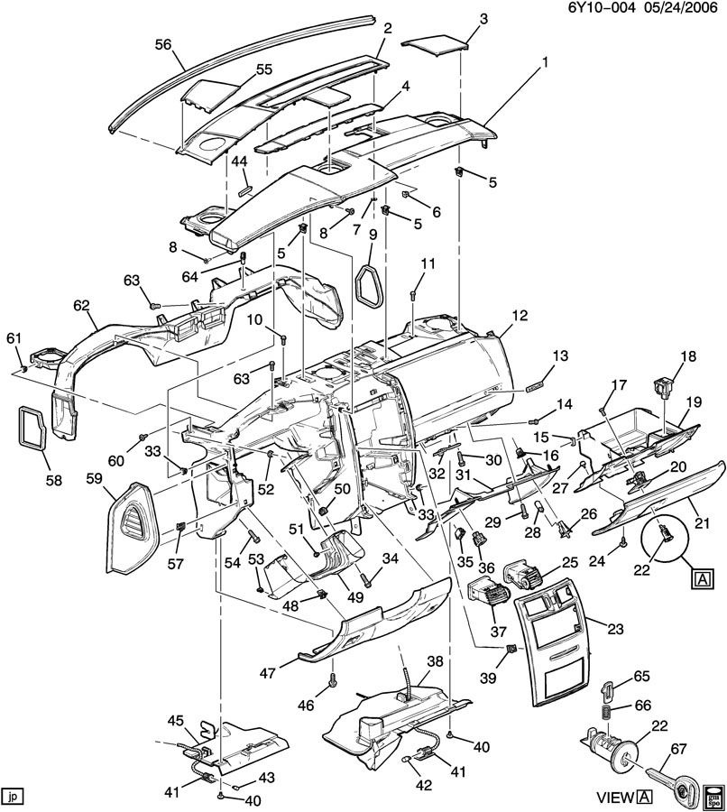 1978 Pontiac Steering Column Diagram