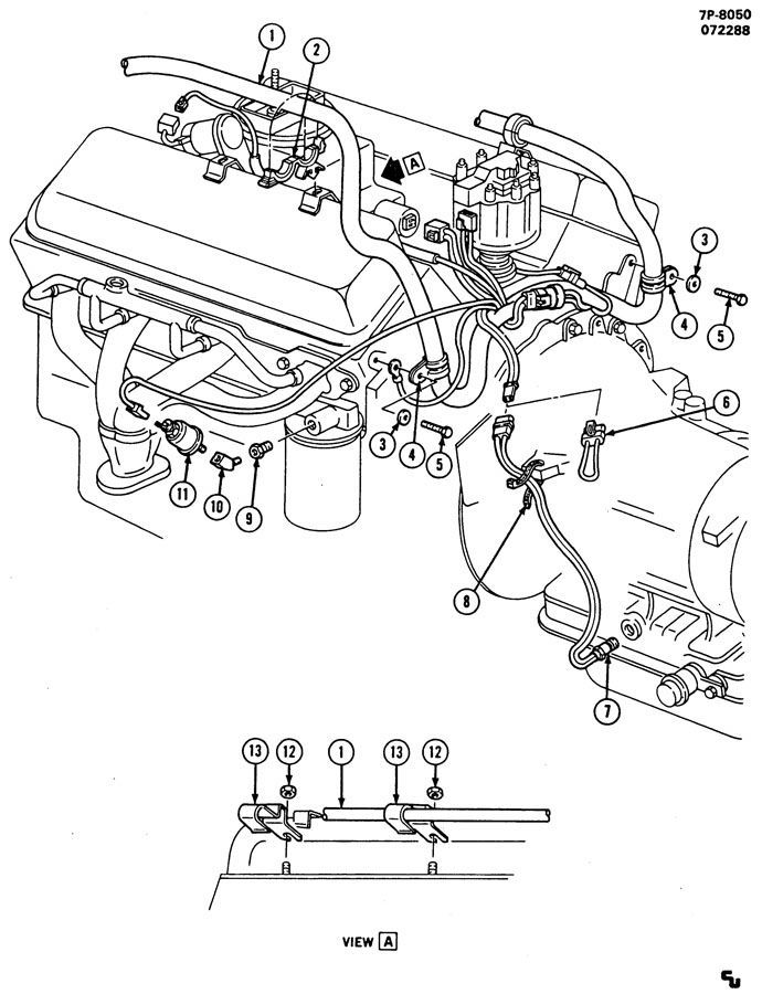 chevrolet fuel line diagram 2004