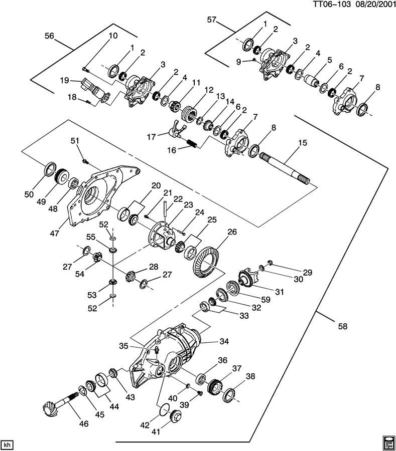 Chevy Front Axle Actuator Wiring Diagram
