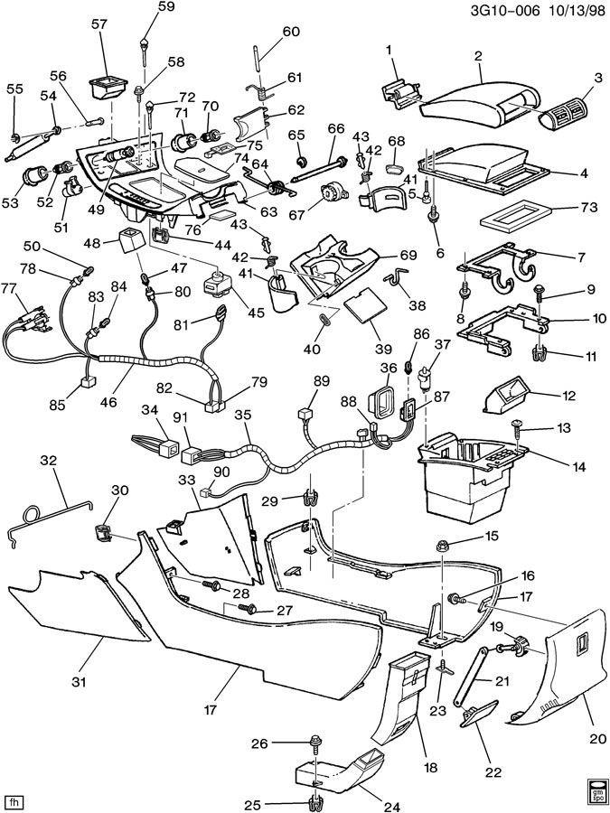 1999 Oldsmobile Aurora Engine Diagram