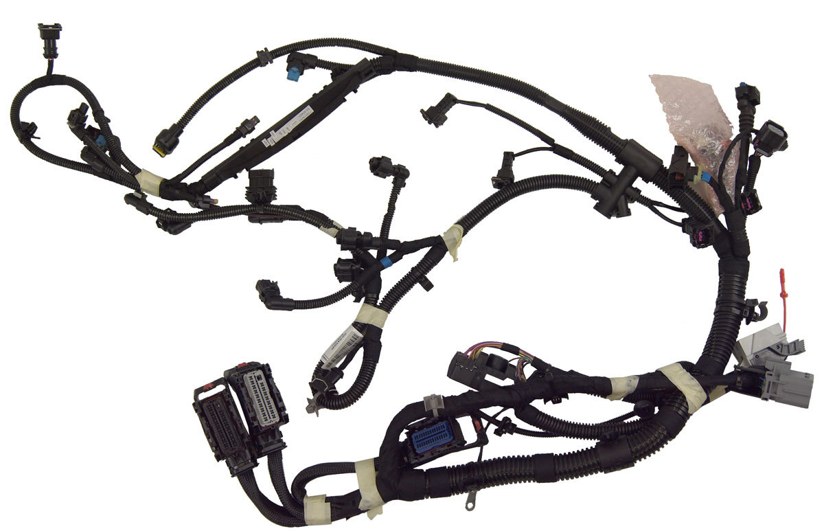2011 Chevrolet Cruze 1.4L Turbo 6-Spd Auto Engine Wiring Harness New  13359193 ...