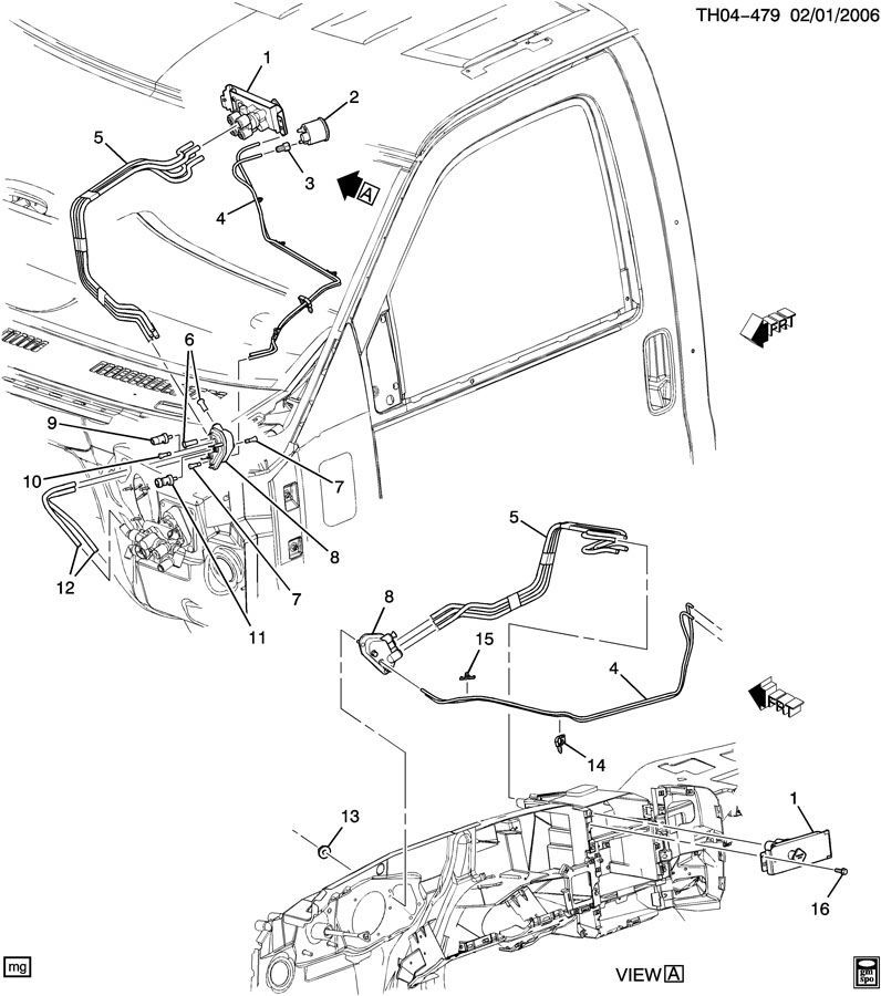 2004 c8500 wiring diagram 2004 chevrolet wiring diagram brake #7