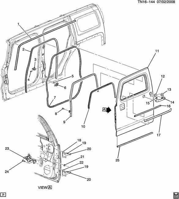2006 hummer h2 sut driver door latch repair diagram