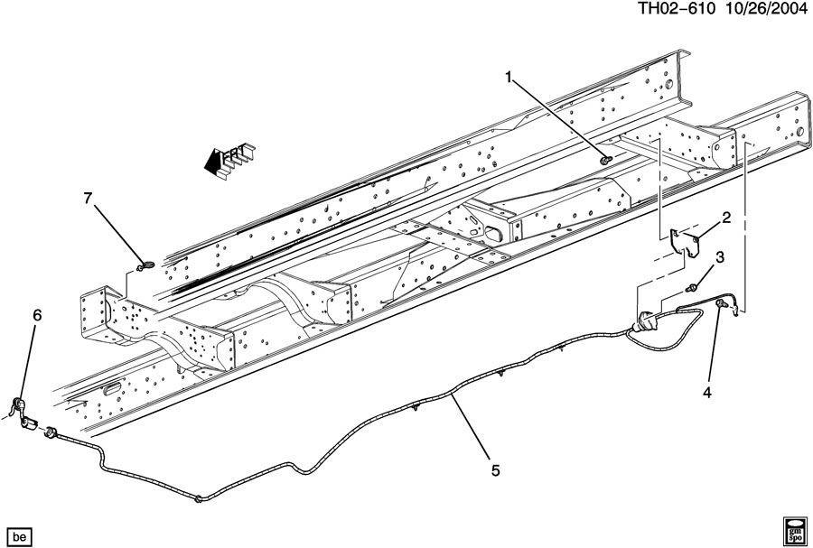 20032009 Topkickkodiak C6500c8500 Trailer Chassis Wiring Harness Rhfactoryoemparts: C8500 Topkick Wiring Diagram At Gmaili.net