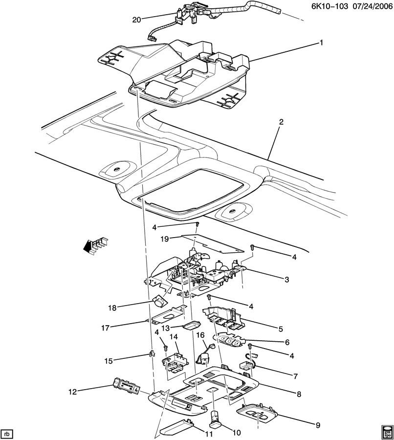 2003 Hummer H1 Interior: Hummer H2 Interior Parts Diagram