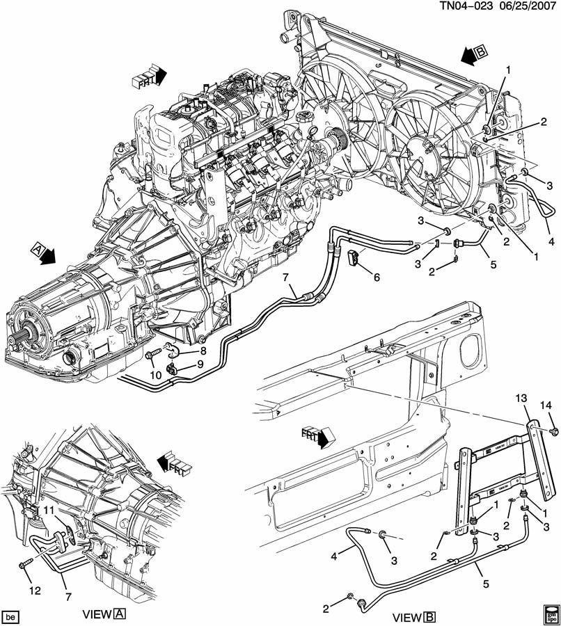 2009 hummer h3 engine diagram 2008 2009 hummer h2 transmission oil cooler outlet pipe new oem  2008 2009 hummer h2 transmission oil