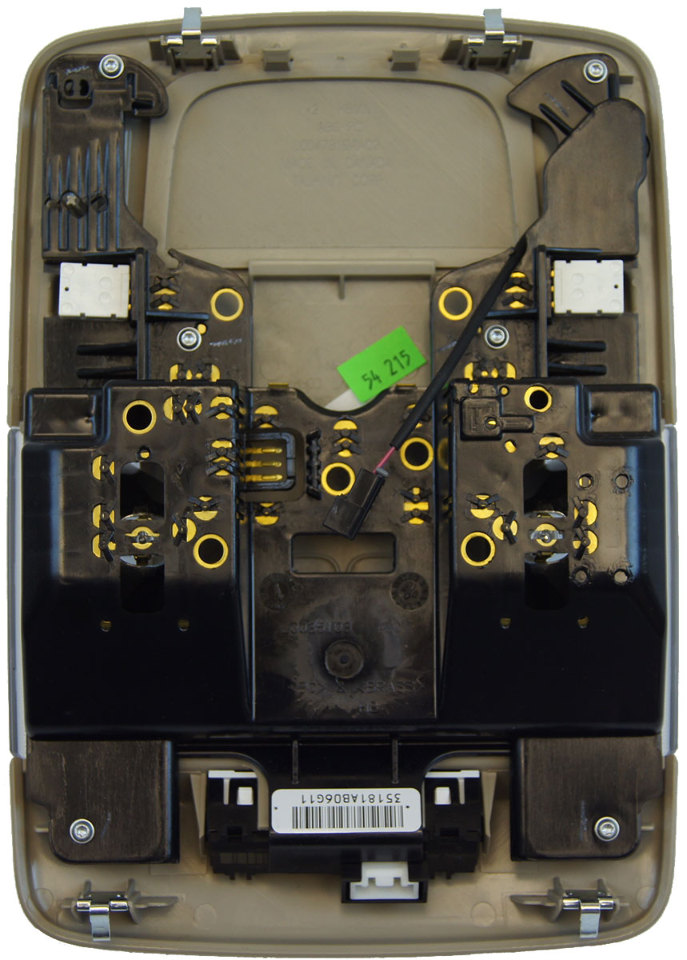 Cadillac Dts Overhead Console Dome Light Shale on 2006 Cadillac Dts Parts