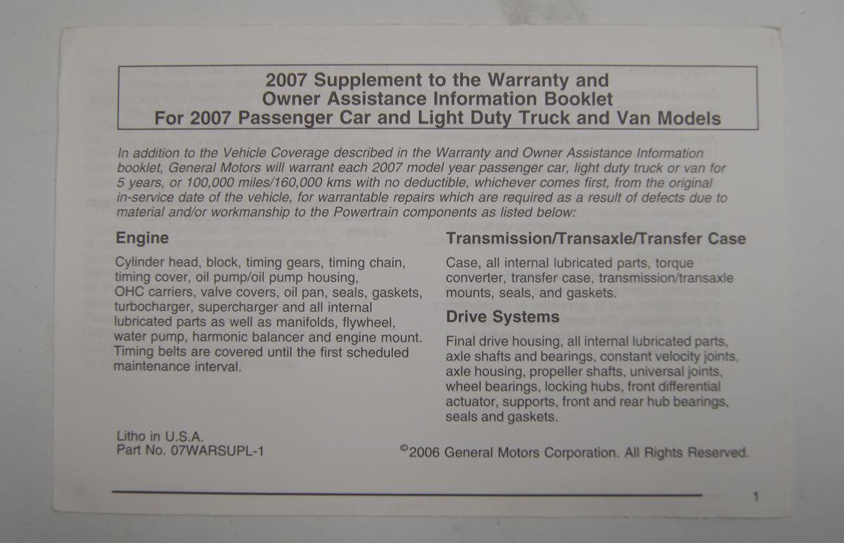 manual escalade 2007
