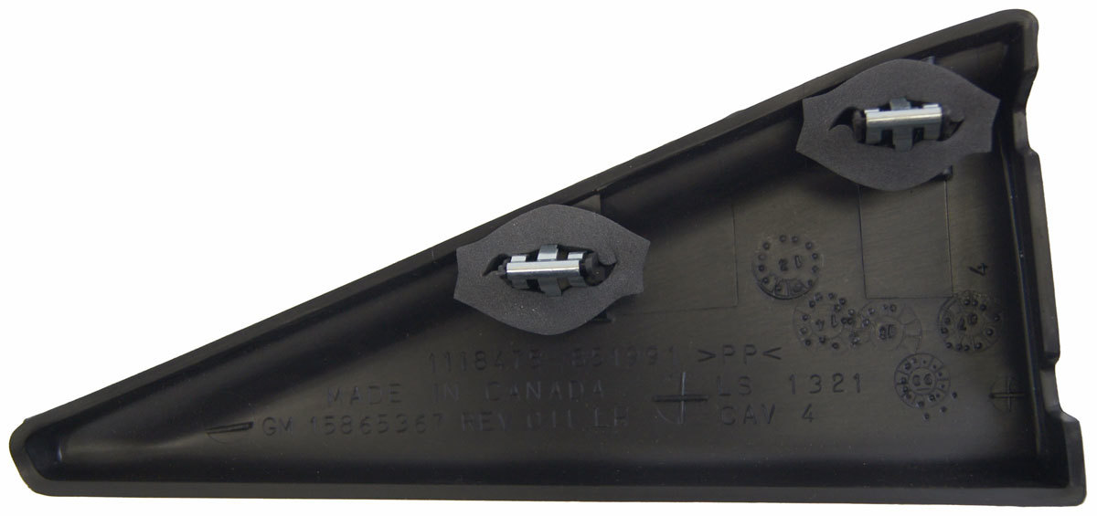 Chevy Impala Limited Rear Left Door Side Trim Panel New Black