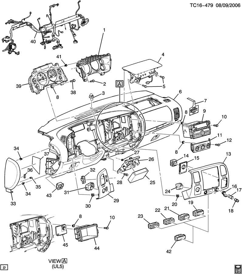 1996 chevy silverado parts diagram 1990 chevy silverado parts diagram 2007-2011 chevrolet silverado gmc sierra pedal height ... #12